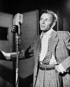 Frank Sinatra doing it his way.